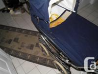 peg-perego stroller bassinete is in great condition,