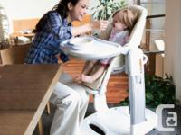 Imagine a high chair that also converts into a swing, a