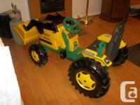 NEW LOWER PRICE,80$ pedal tractor, completely restored