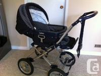Peg Perego stroller is switchable between car seat and