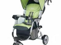 Stroller works terrific, is light weight and one had