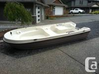 11 Footer Double Hull Pelican Watercraft. In excellent
