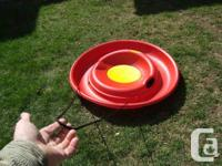 Pelican Bulk Red Formed Snow Saucer - Hard To Discover