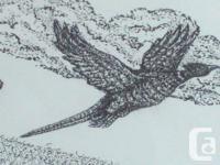 FRAMED PEN & INK ORIGINAL BY DUNCAN ARTIST JOHN CARRECK