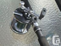 DEEP WATER TROLLING REEL AND ROD , REEL PEN 209 LOADED