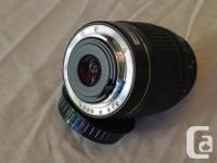 Pentax 50-200mm F4-5.6 ED DA Autofocus zoom lens K