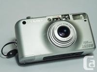 Compact and stylish, the Pentax IQ Zoom 120SW camera is