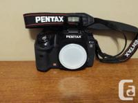 FOR SALE:.  1 - Pentax K10D Cam with:. Pentax K10D