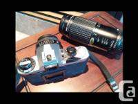 Gently used Pentax ME Super 35mm film camera in good