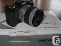 Pentax Q, the smallest mirrorless, interchangeable lens