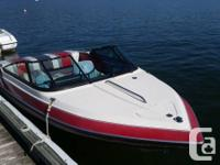 MINT Shape, 4.3 l V6 205HP low hours, Ski Hook, Pail