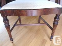 Duncan Phyfe style dinning room table & chairs built by