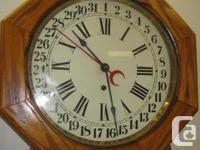 - - SALE -- on -- NOW - - - Pequegnet Calendar clock.