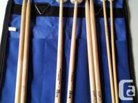 Selling percussion mallets and drum stick set with a