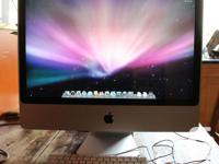 Series: Early 2009 ID: iMac9,1 PROCESSOR(S): Core 2 Duo