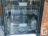White SAMSUNG dishwasher. MINT CONDITION. $250 OBO.