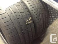 PERFORMANCE PERELLI 255/35 R19 TIRES LIKE NEW INSTALLED