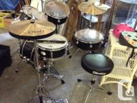 Great health condition. This drum collection is easy to