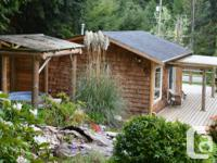 Freshly renovated cottage with snack cooking area,