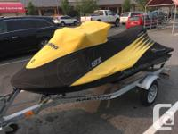 2003 GTX seadoo 155 hp 4 stroke 3 seater. Just