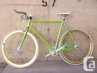 The best fixie you will ever use. This is an enjoyable,