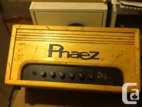 One Phaez amp by Randy Fey.  I purchased this amp new a