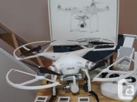 DJI Phantom 3 Advanced in like new condition, upgraded