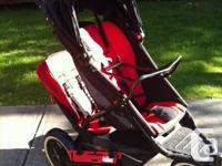 Phil & Teds Explorer dual stroller. Comes total with