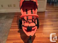 Used but good condition double stroller with detachable