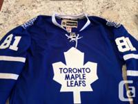 Phil Kessel Autographed Leafs Jersey, authentic jersey