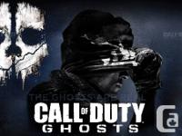 I have 2 copies of Phone call of Responsibility: Ghosts