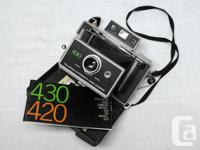 Polaroid Mini-Portrait camera $150 Polaroid #430