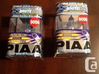 One pair of PIAA Xtreme White Plus Headlamp 9006 HB4