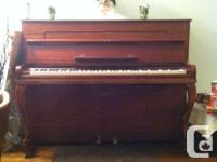 This piano has been in a musical family for many years
