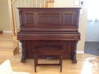 Original Heintzman Piano. Toronto March 10 1896.