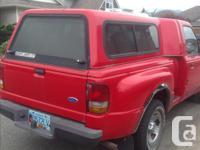 Make Ford Model Ranger Year 1997 Colour Red kms 169607