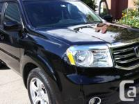 For sale 2013 Honda Pilot-EX with simply 11000km on it.