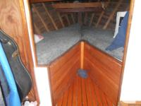 Monk designed, shipwright built, cedar planked and