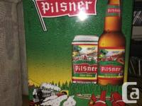 I have a collectible Pilsner beer fridge works great