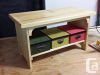 Solid Pine coffee table for sale (2 available)