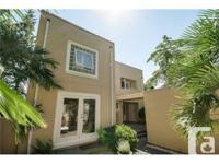 An outstanding, bright and warm residence with