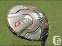 Mint condition ping g20 driver with a stiff Tour