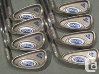 Ping G5 irons 3-LW (11 irons) - like NEW   - Absolutely