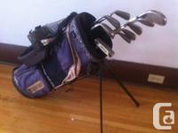 Five full sets of Golf Clubs for sale  Ladies PING golf