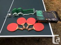 Sadly selling the family ping pong table after many fun