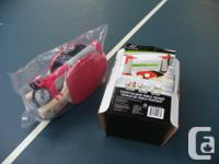 Regulation size table 5 x 9 New racquets, net and