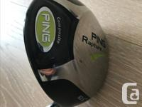 Right handed Ping Rapture driver in great shape, 10.5