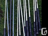Total collection of left handed clubs Ping Irons -