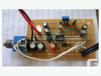 Pink Noise generator. To see other Electronic test
