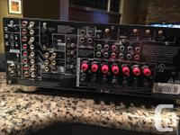 Pioneer Audio-Video multi-channel receiver; model #